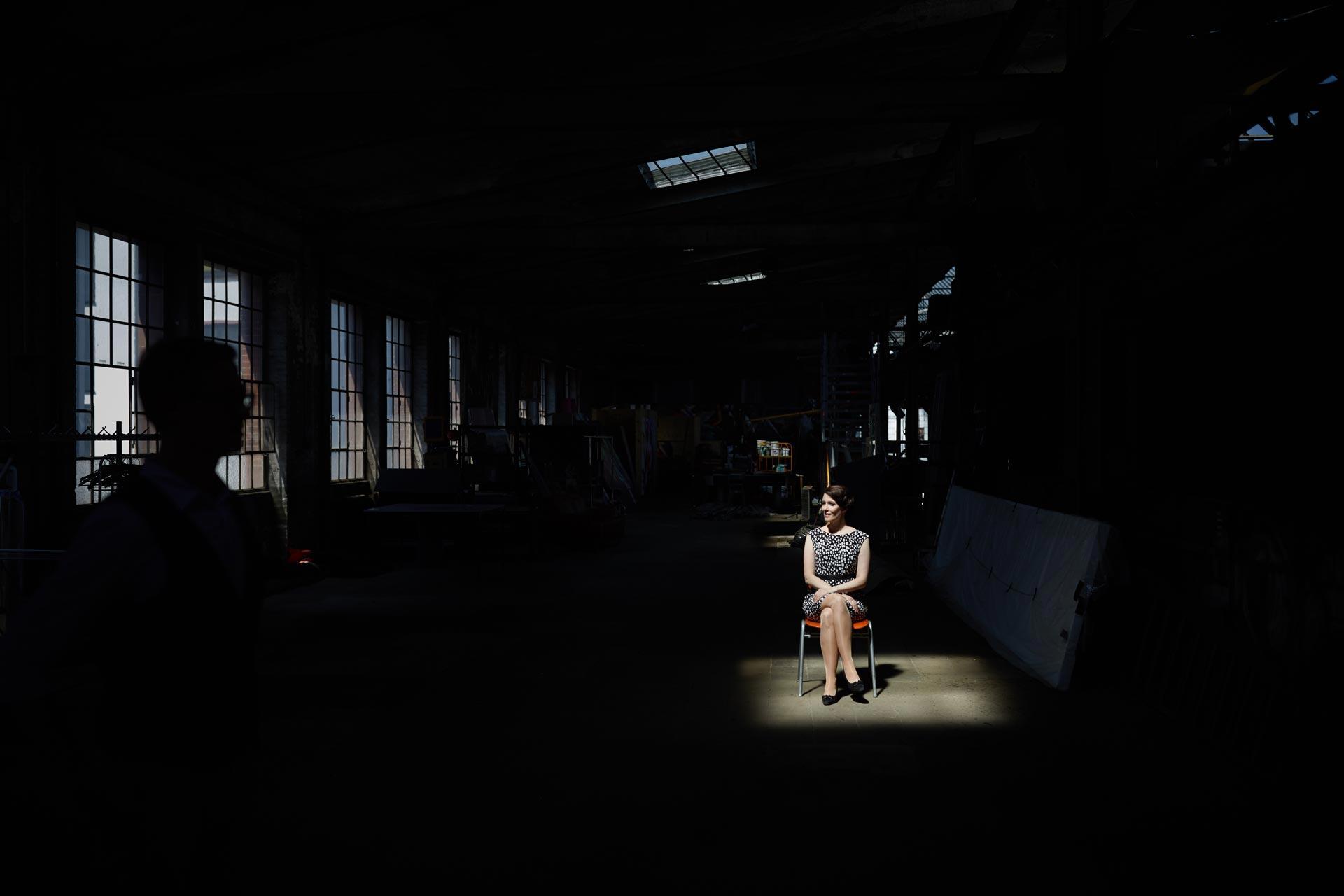 Portraitshooting Naxoshalle